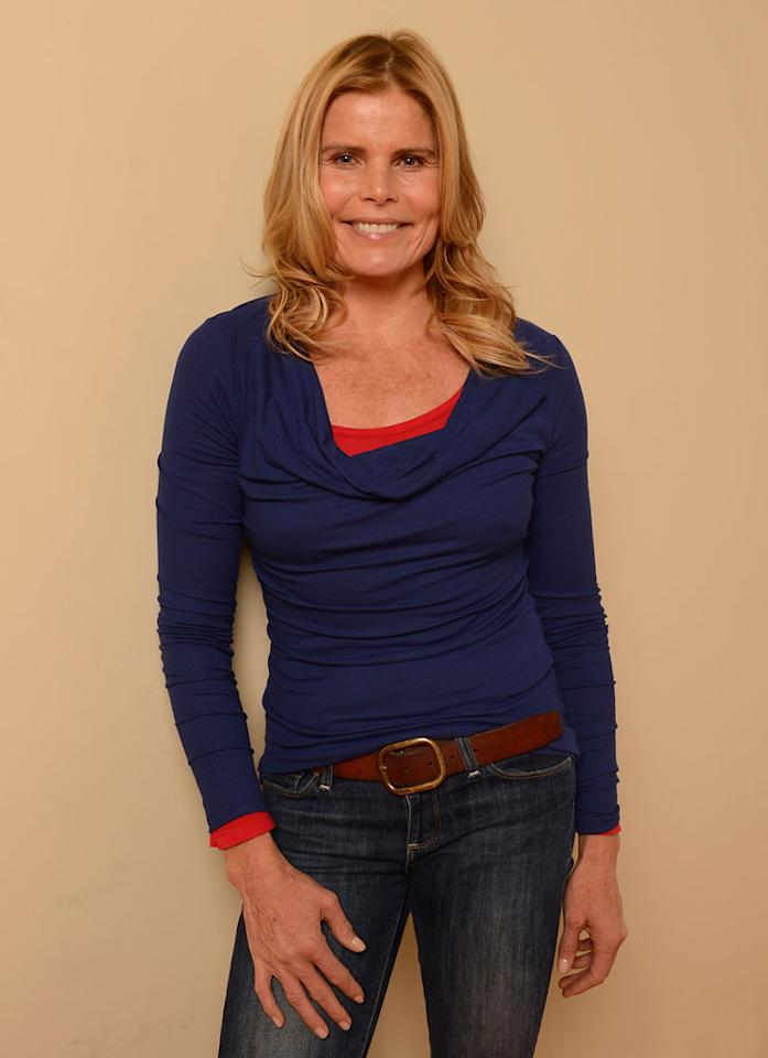 PARK CITY, UT - JANUARY 20:  Actress Mariel Hemingway poses for a portrait during the 2013 Sundance Film Festival at the Getty Images Portrait Studio at Village at the Lift on January 20, 2013 in Park City, Utah.  (Photo by Larry Busacca/Getty Images)