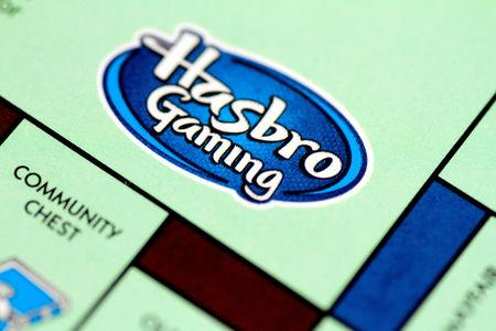 FILE PHOTO: Illustration photo of a Monopoly board game by Hasbro Gaming