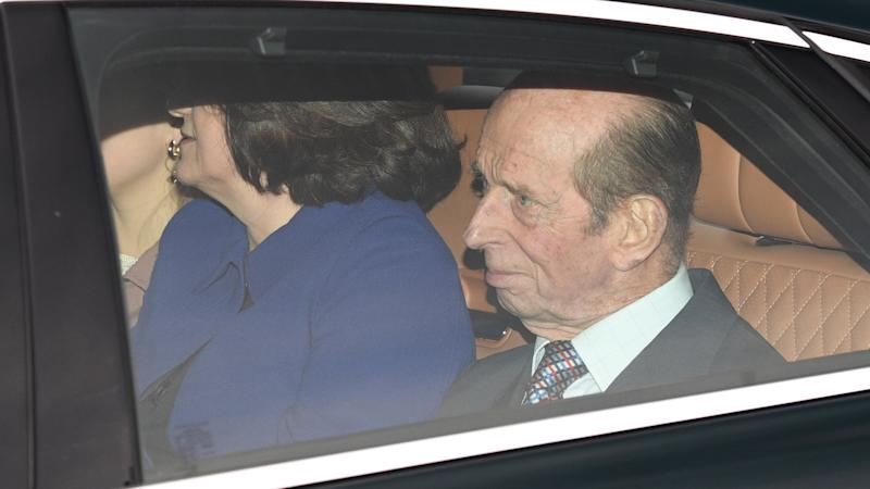Duke of Kent 'involved in car accident'