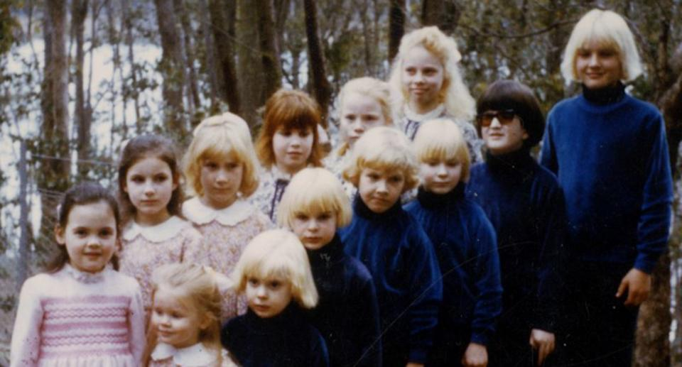 The children of the cult. Source: Supplied