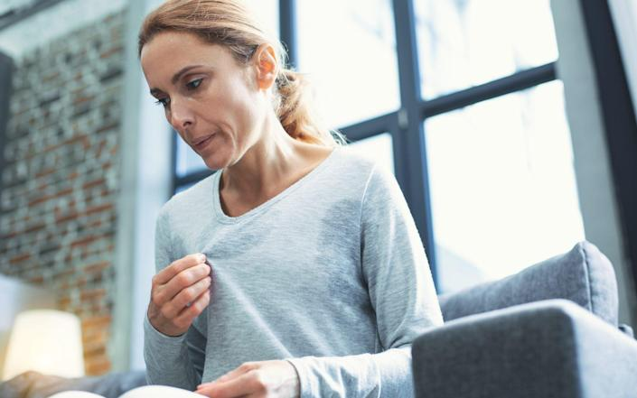The survey of 3,800 women found that 59 per cent had taken time off work due to menopause symptoms - iStockphoto