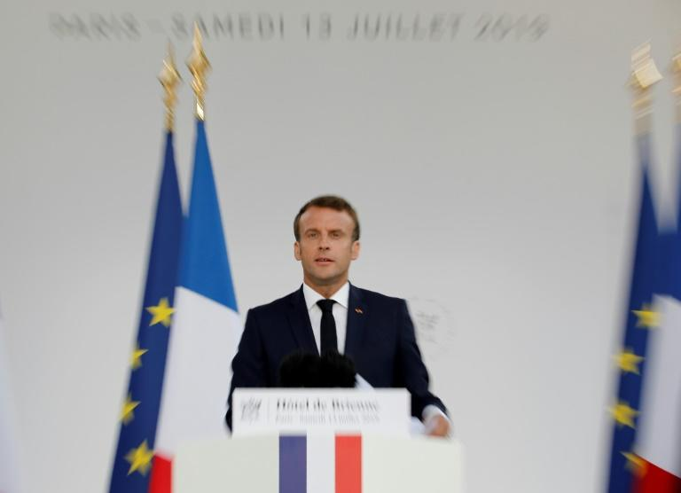 French President Emmanuel Macron has announced the creation of a new national military space force command that would eventually be part of his country's air force