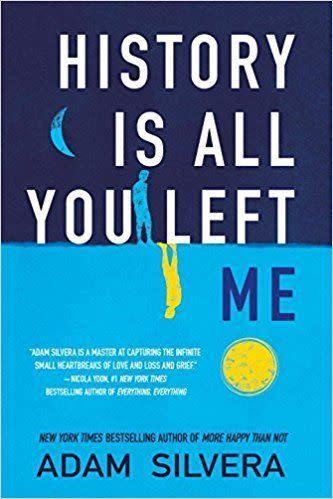 From Goodreads: &quot;From the New York Times bestselling author of More Happy Than Not comes an explosive examination of grief, mental illness, and the devastating consequences of refusing to let go of the past.&quot;&amp;nbsp;<span>Get it here</span>.&amp;nbsp;