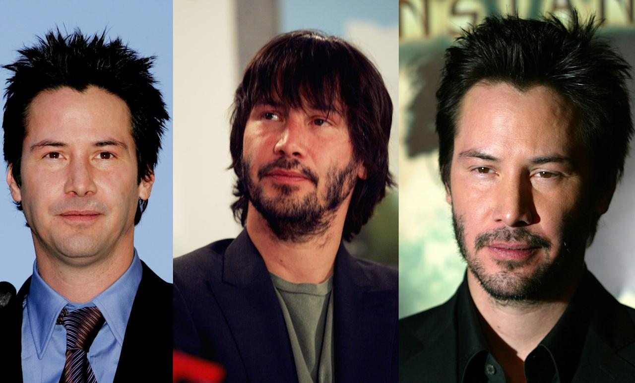 kaum gealtert keanu reeves im wandel der zeit. Black Bedroom Furniture Sets. Home Design Ideas