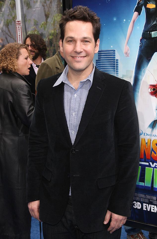 "<a href=""http://movies.yahoo.com/movie/contributor/1800018571"">Paul Rudd</a> at the Los Angeles premiere of <a href=""http://movies.yahoo.com/movie/1809918074/info"">Monsters vs. Aliens</a> - 03/22/2009"