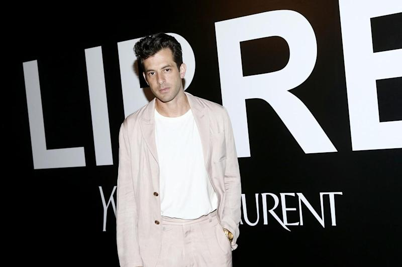 Mark Ronson attends the YSL Beauty LIBRE Launch in New York City: Getty Images