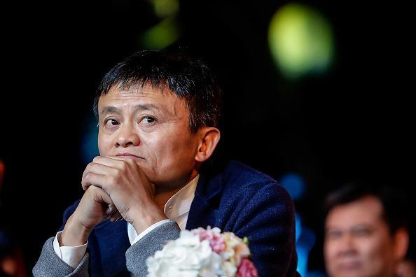 Alibaba's founder and Chairman Jack Ma. His e-commerce giant has been a short target for investors since its IPO. (Getty Images)