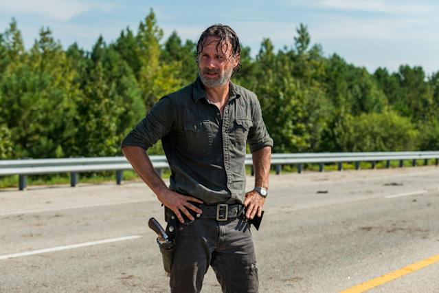 Andrew Lincoln as Rick Grimes in 'The Walking Dead' (Photo: AMC)