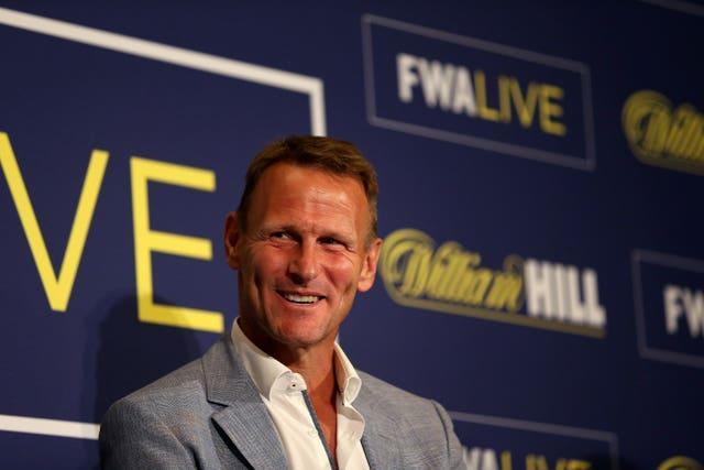 Sheringham most recently appeared on ITV singing show The Masked Singer