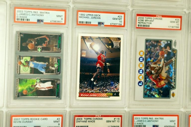 """Cards of NBA star Michael Jordan are in demand following the popularity of Netflix series """"The Last Dance"""""""