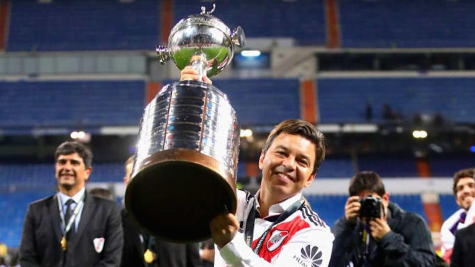 Marcelo Gallardo campeón en Madrid | Chris Brunskill/Fantasista/Getty Images