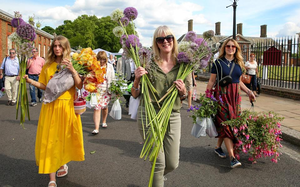 rhs chelsea flower show - Getty