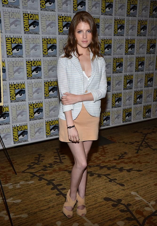 """SAN DIEGO, CA - JULY 13:  Anna Kendrick attends """"Paranorman"""" during Comic-Con International 2012 held at the Hilton San Diego Bayfront Hotel on July 13, 2012 in San Diego, California.  (Photo by Frazer Harrison/Getty Images)"""