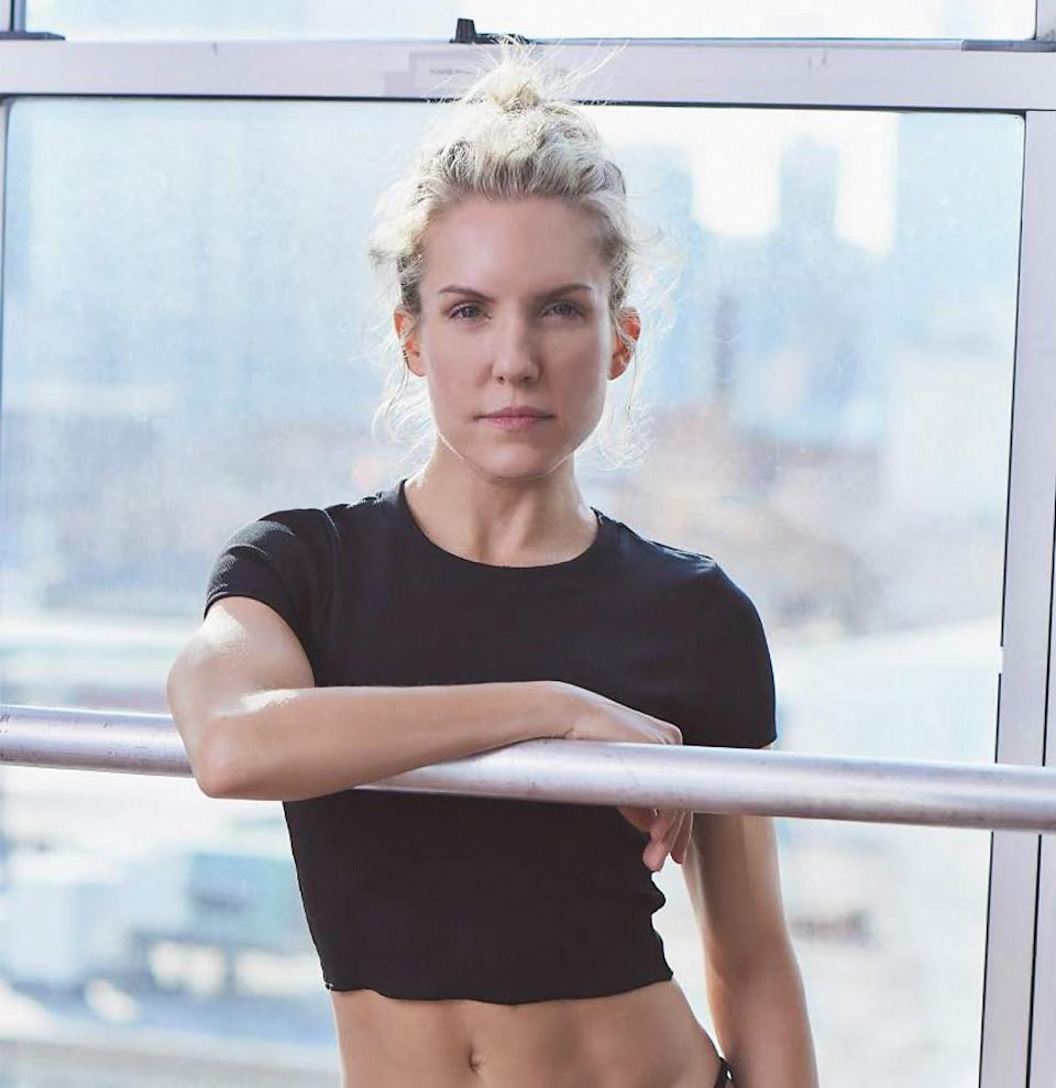 Celebrity trainer Anna Kaiser urges clients to do exercises that they love, like dancing. (Photo courtesy of Anna Kaiser)