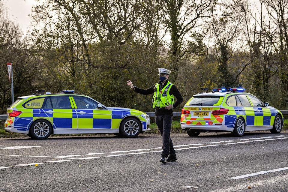 """<p>Dyfed-Powys Police said it responded to a """"serious collision"""" on the A478</p> (PA Archive)"""