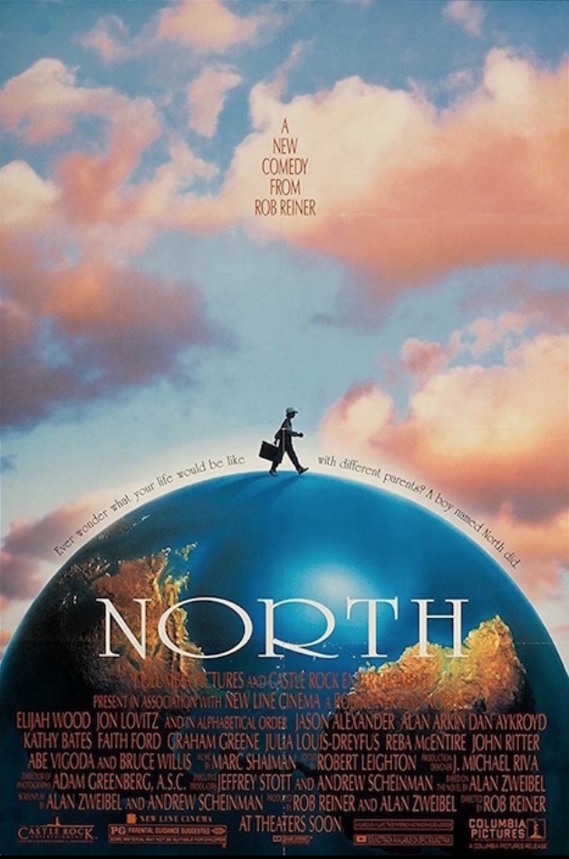 "<p>Even with a star-studded cast (Bruce Willis, Julia Louis-Dreyfus, Alan Arkin, Jason Alexander, Kathy Bates, and Elijah Wood, to name a few) Rob Reiner's film <em>North</em> wasn't a hit with critics or audiences. After spending a $40 million budget, the film only brought in <a href=""https://www.imdb.com/title/tt0110687/"" rel=""nofollow noopener"" target=""_blank"" data-ylk=""slk:$7 million in ticket sales"" class=""link rapid-noclick-resp"">$7 million in ticket sales</a>.</p>"