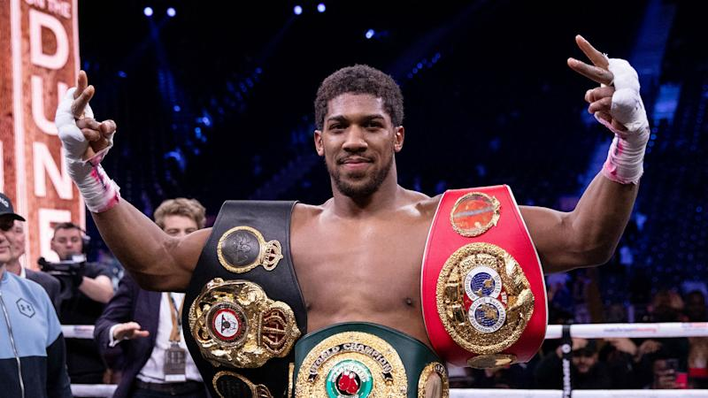 Anthony Joshua to appear in FIFA 21