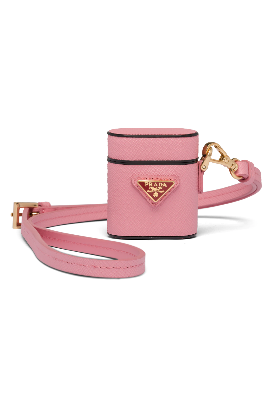 "<p><strong>Prada</strong></p><p>prada.com</p><p><strong>$460.00</strong></p><p><a href=""https://www.prada.com/us/en/women/accessories/technology/products.saffiano_leather_airpods_case.1ZD002_QHH_F0MY4.html"" rel=""nofollow noopener"" target=""_blank"" data-ylk=""slk:Shop It"" class=""link rapid-noclick-resp"">Shop It</a></p><p>Consider group gifting your sister-from-another-mister this adorable Prada AirPod case.</p>"