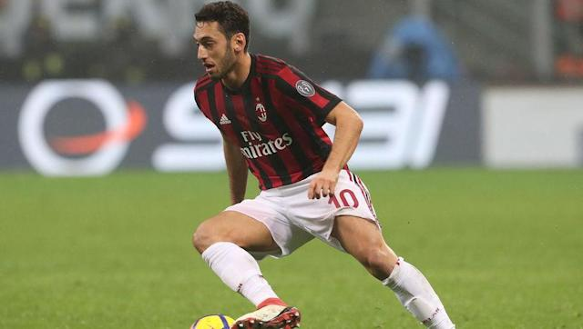 <p>Calhanoglu endured a pretty torrid start to his career at the San Siro when he joined from Bayern Leverkusen in the summer. The Turkish international was finding appearances hard to come by and a January departures looked like a real possibility. </p> <br><p>Nevertheless, things have improved since and the 24-year-old is certain to cause the Arsenal defence some problems and especially from dead ball situations. </p>