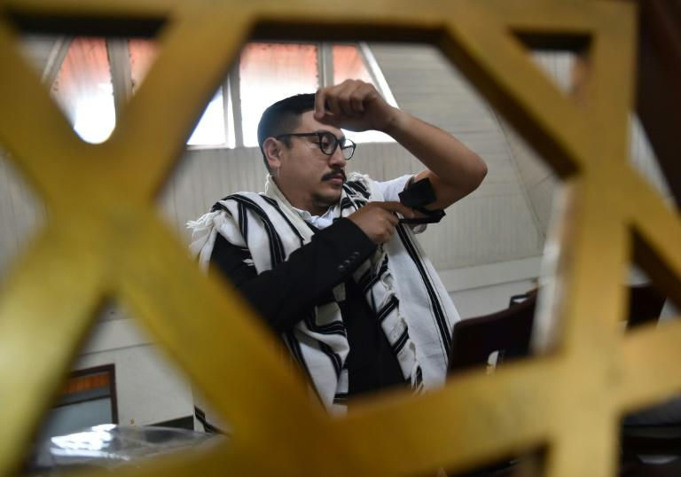 "In Tondano, Indonesia the ""Shaar Hasyamayim"" synagogue sits close to several churches and residents of different religions live, work, and worship alongside each other without incident"