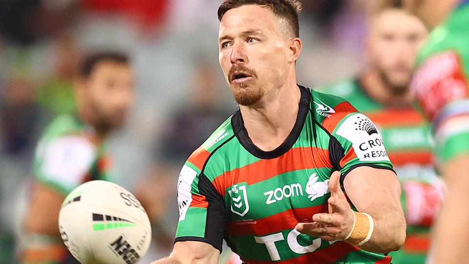 Damien Cook says it will only be a matter of time before players adapt to the NRL's high-shot edict. (Photo by Mark Nolan/Getty Images)