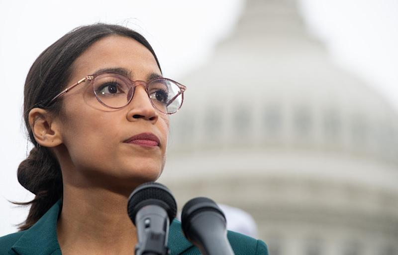 US Representative Alexandria Ocasio-Cortez has offered fellow Democrats, many decades older, tips on using social media in politics