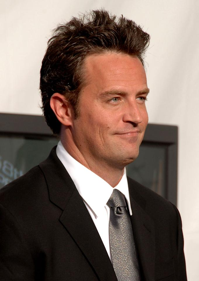 Matthew Perry at The 58th Annual Primetime Emmy Awards.