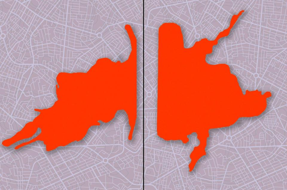 Alabama 7thIs this an inkblot or a product of gerrymandering?