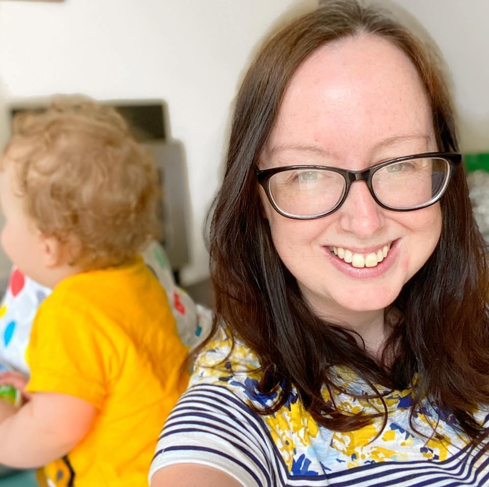 Jenna Downes, pictured with her son Jude, felt like she had to learn everything all over again following her Crohn's diagnosis. (Supplied, Jenna Downes)