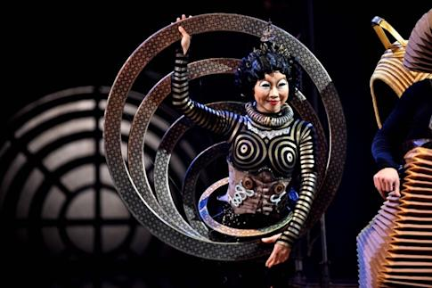 Cirque du Soleil filed for bankruptcy protection in June. Photo: AFP