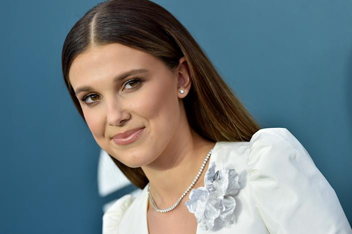 Millie Bobby Brown says fans can't accept the fact that she's growing up. (Photo: Axelle/Bauer-Griffin/FilmMagic)