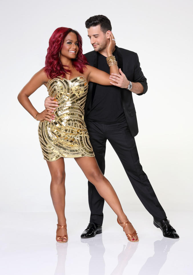 "Christina Milian partners with Mark Ballas on ABC's ""Dancing With the Stars"" Season 17."
