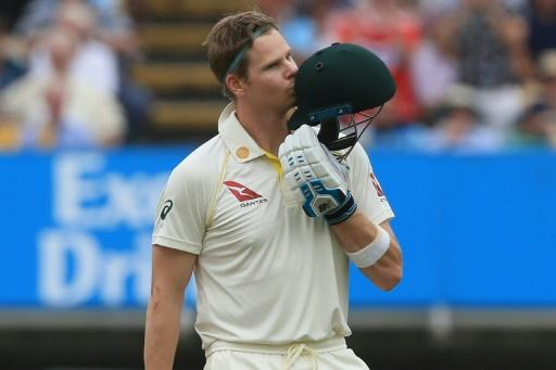 Australia's Steve Smith scored a century in each innings on his return from a year-long ban