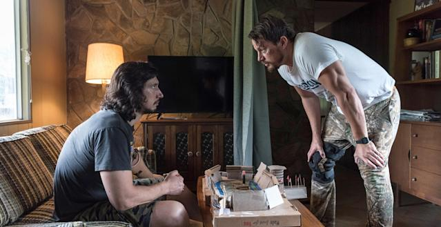 Adam Driver and Channing Tatum in  <em>Logan Lucky.</em> (Photo: Claudette Barius/Fingerprint Releasing/Bleecker Street/Amazon/Courtesy Everett Collection)