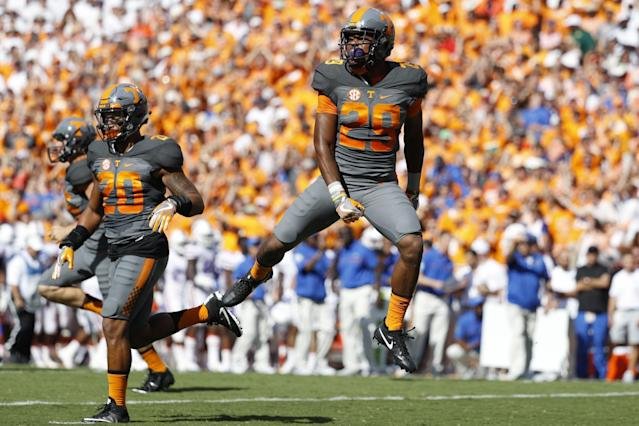 Tennessee hadn't beaten Florida since 2004 (Getty).