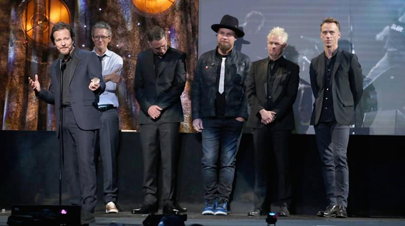 Watch Pearl Jam's Humble Rock Hall Induction Speech