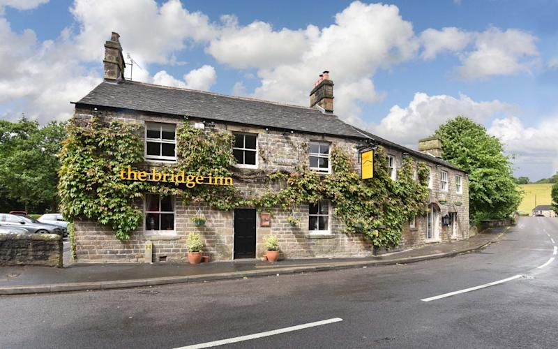 Owners of The Bridge Inn in Calver, Derbyshire, and its customers say they have become victims of online trolling after 'activists' found out they served foie gras - Samantha McHattie/Guzelian