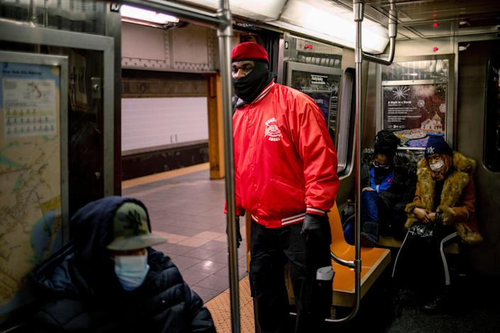 <p>FILE IMAGE: New York's subway is one of the busiest metro systems in the world</p> (AP)