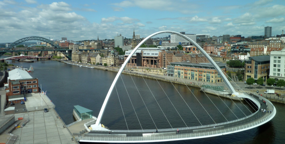 <em>The stag party ended up spending their stag do in Newcastle (Wikipedia)</em>