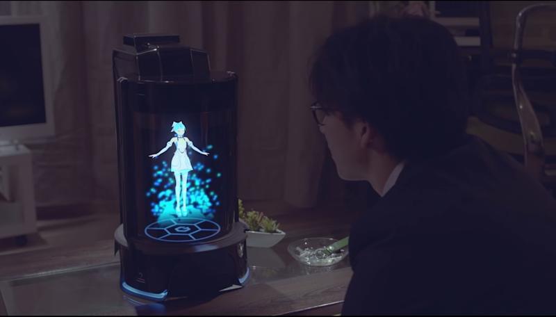 A Holographic Assistant Is Ready to Serve You