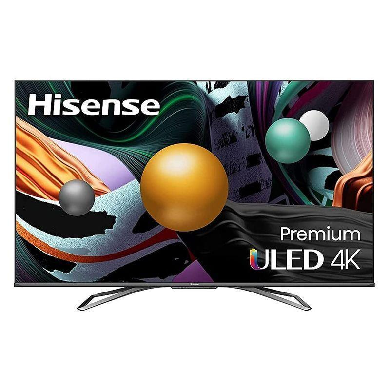 """<p><strong>Hisense</strong></p><p>amazon.com</p><p><strong>$899.99</strong></p><p><a href=""""https://www.amazon.com/dp/B091YJQGVW?tag=syn-yahoo-20&ascsubtag=%5Bartid%7C10060.g.37203677%5Bsrc%7Cyahoo-us"""" rel=""""nofollow noopener"""" target=""""_blank"""" data-ylk=""""slk:Shop Now"""" class=""""link rapid-noclick-resp"""">Shop Now</a></p><p><strong>Key Specs</strong></p><ul><li><strong>Screen sizes: </strong>55, 65 in.</li><li><strong>Screen type: </strong>ULED (LCD with Quantum dot)</li><li><strong>Refresh rate:</strong> 120 Hz</li><li><strong>Ports:</strong> 4 HDMI</li><li><strong>Dimensions:</strong> 48.5 x 28.2 x 3.9 in. (55 in.)</li><li><strong>Weight:</strong> 38.1 lb. </li></ul><p>It's been said that you get what you pay for, but that's not always the case. With the Hisense U8G Quantum Series Android 4K Smart TV, you actually get more than you pay for. The TV uses 4K ULED, which is like 4K on steroids. This results in a higher level of brightness and contrast, more vibrant colors, and much smoother motion. Quantum Dot, Ultra Motion, and a 120Hz refresh rate, along with Dolby Vision and Dolby Atmos, combine for a high-quality cinematic viewing experience. And IMAX Enhanced brings everything together. The TV is compatible with Alexa, and you can also use Google to search for and browse your favorite shows on Netflix, Peacock, Disney+, etc. </p>"""
