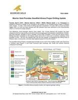 Warrior Gold Provides Goodfish-Kirana Project Drilling Update (CNW Group/Warrior Gold Inc.)