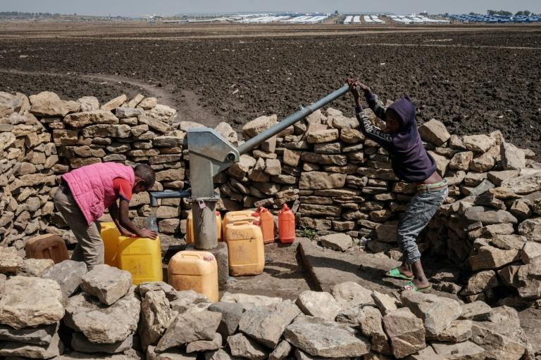 The war in northern Ethiopia has driven hundreds of thousands of people into famine-like conditions, according to UN estimates (AFP/Yasuyoshi CHIBA)
