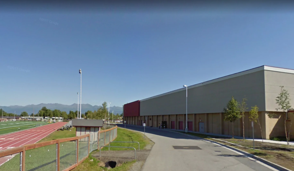 An athlete at Anchorage's Dimond High School was disqualified after winning a swim meet because of a 'suit wedgie,' prompting accusations of racism and sexism. (Photo: Google Maps)