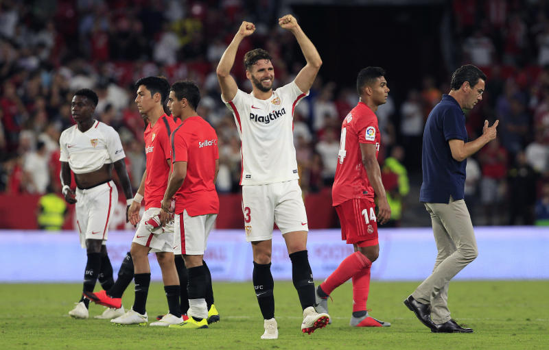 575abd32d47 Stunned: Barca loses to last-place Leganes, Real to Sevilla