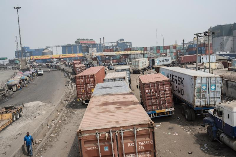 The Maritime Workers Union of Nigeria (MWUN) has issued the government an ultimatum (AFP Photo/Stefan HEUNIS)
