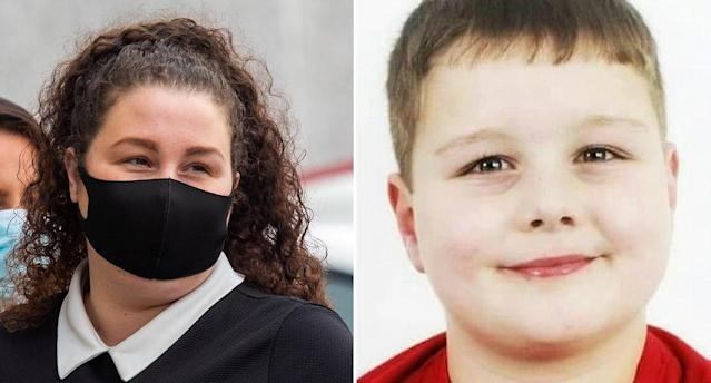 Tawnee Willis and her son Frankie Macritchie. (SWNS)
