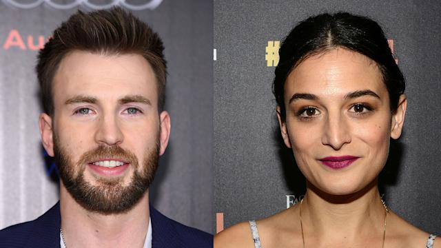 Chris Evans: Jenny Slate Is 'My Favorite Human, She's the Best'