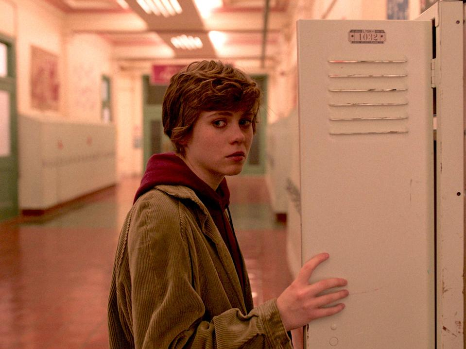 """Sophia Lillis in """"I Am Not Okay With This."""""""