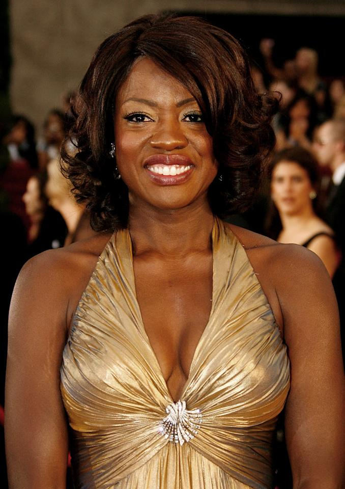 Viola Davis arrives at the 81st Annual Academy Awards -- Feb. 22, 2009.